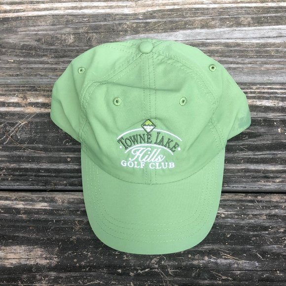 Ouray Green Adjustable Golf Hat / Baseball Cap